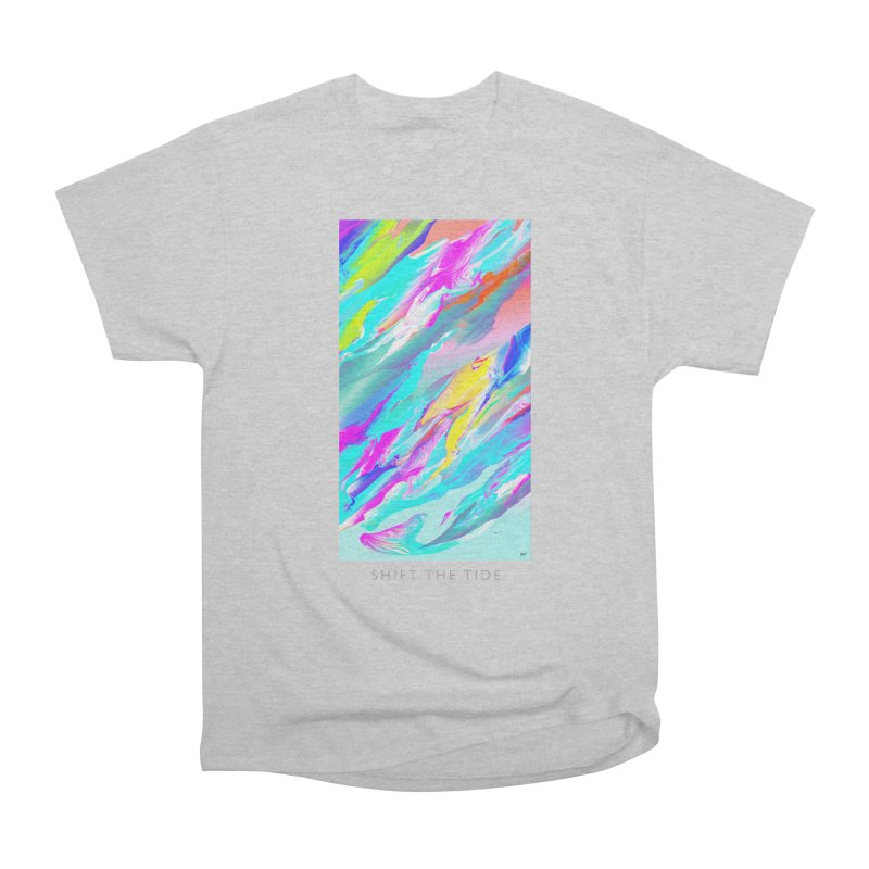 SHIFT THE TIDE Women's Heavyweight Unisex T-Shirt by mu's Artist Shop