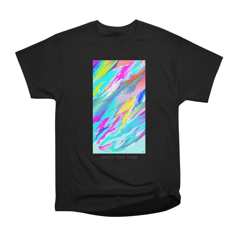 SHIFT THE TIDE Men's Heavyweight T-Shirt by mu's Artist Shop