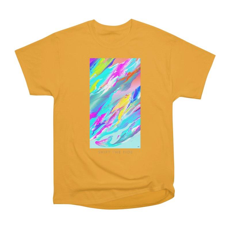 SHIFT THE TIDE Women's Heavyweight Unisex T-Shirt by mu's Artist Shop