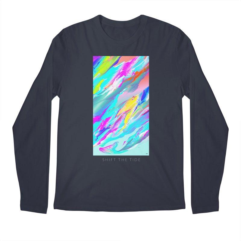 SHIFT THE TIDE Men's Longsleeve T-Shirt by mu's Artist Shop