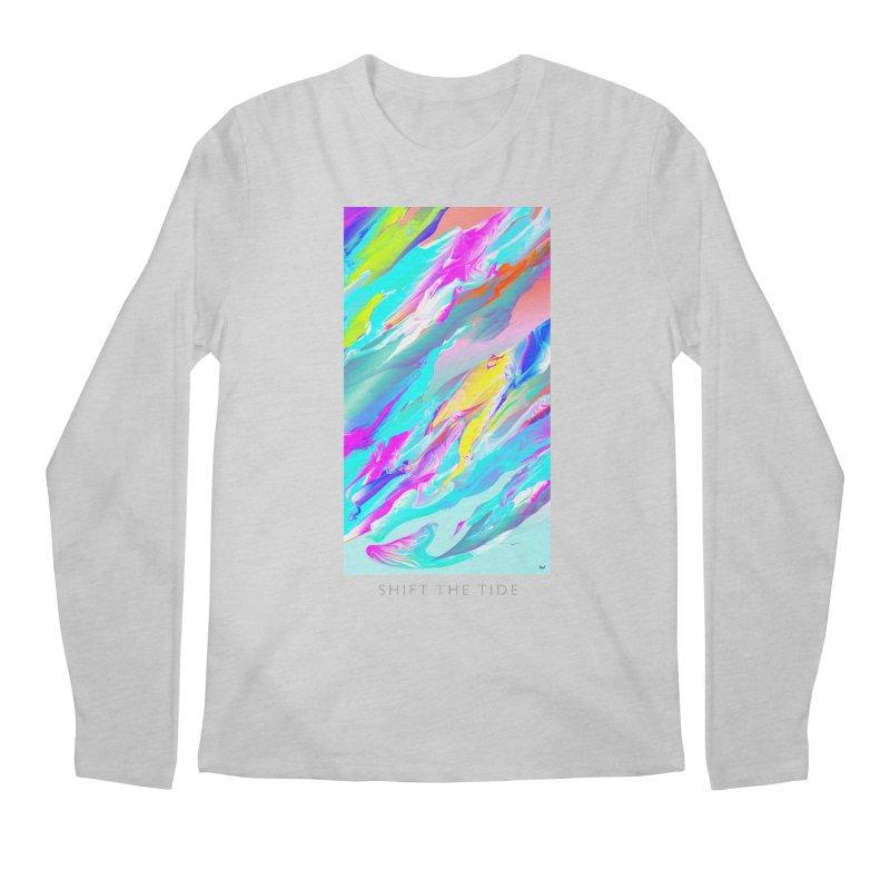 SHIFT THE TIDE Men's Regular Longsleeve T-Shirt by mu's Artist Shop