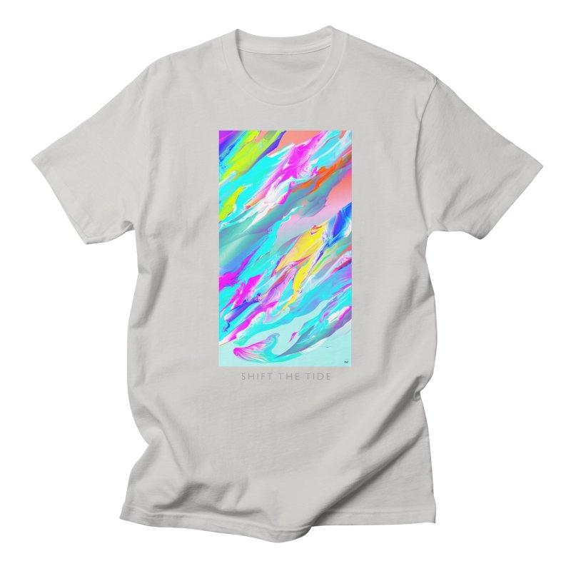 SHIFT THE TIDE Men's T-Shirt by mu's Artist Shop