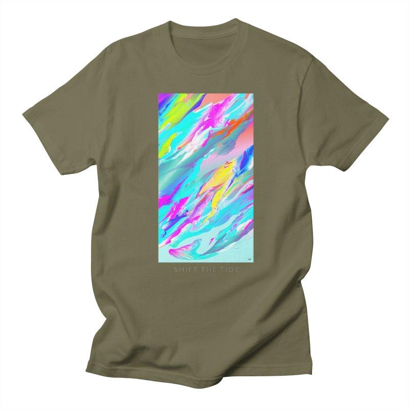 SHIFT THE TIDE Women's Regular Unisex T-Shirt by mu's Artist Shop