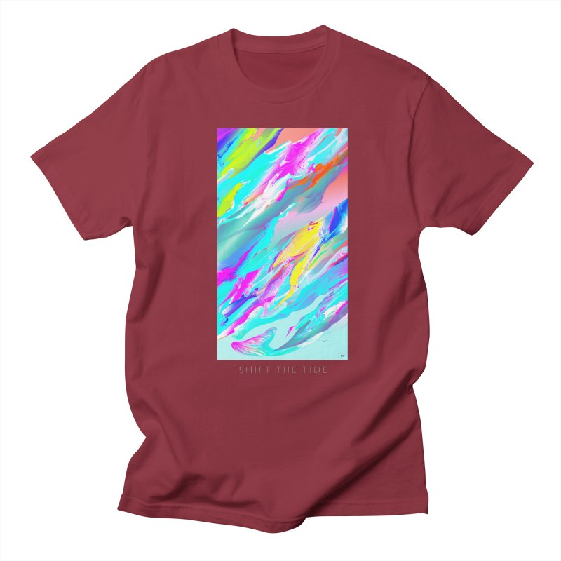 SHIFT THE TIDE Women's Regular Unisex T-Shirt by mu's Artist Shop