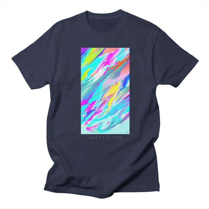 SHIFT THE TIDE Women's Unisex T-Shirt by mu's Artist Shop