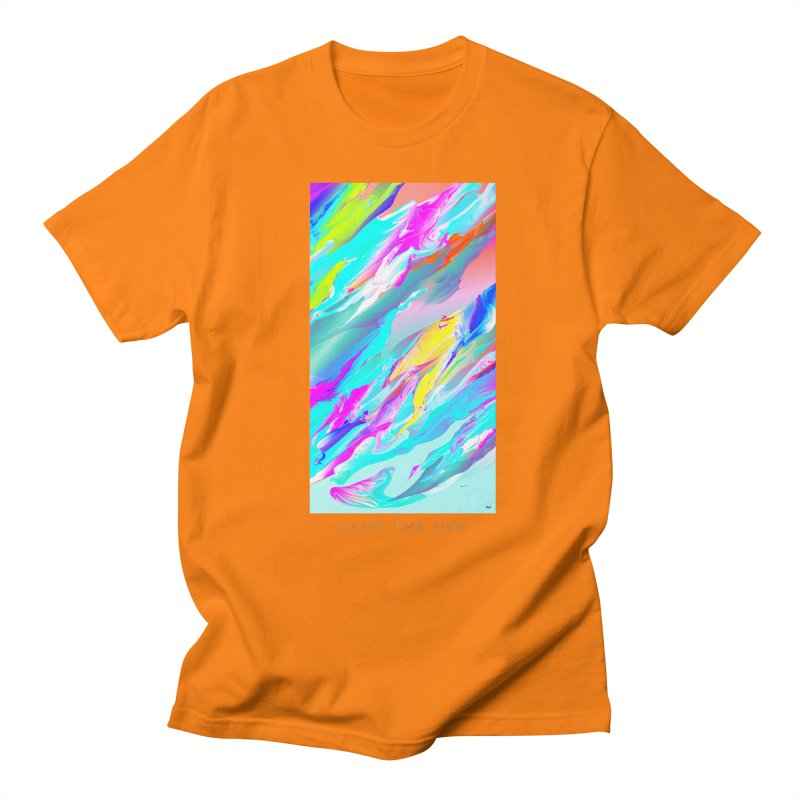 SHIFT THE TIDE Men's T-Shirt by mu's Artist Shop