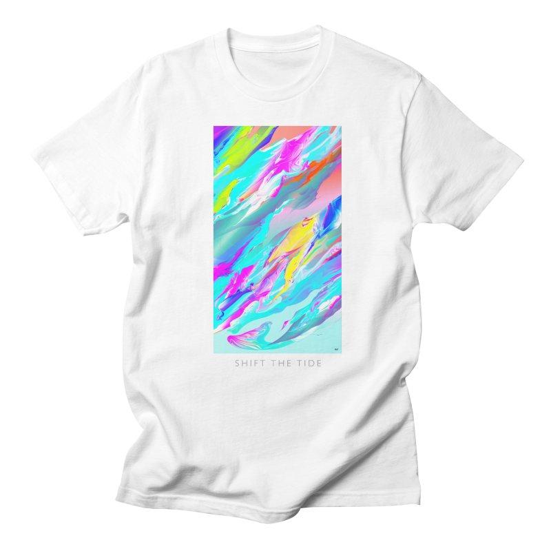 SHIFT THE TIDE Men's Regular T-Shirt by mu's Artist Shop