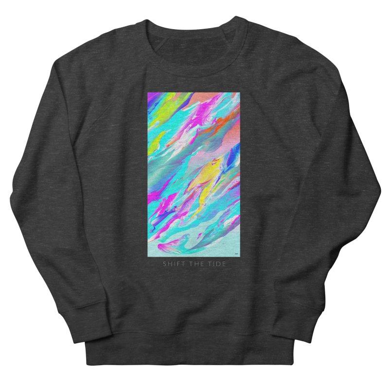SHIFT THE TIDE Women's French Terry Sweatshirt by mu's Artist Shop