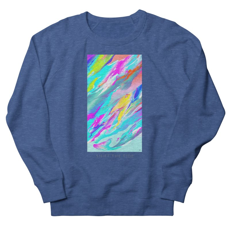 SHIFT THE TIDE Men's Sweatshirt by mu's Artist Shop