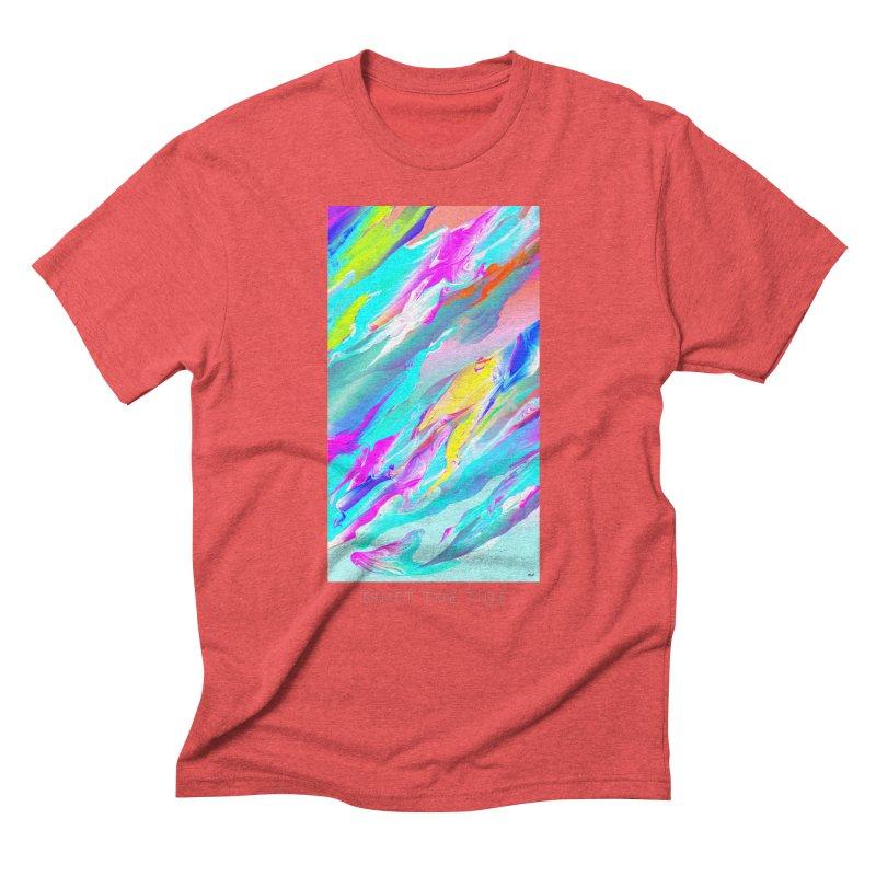 SHIFT THE TIDE Men's Triblend T-Shirt by mu's Artist Shop