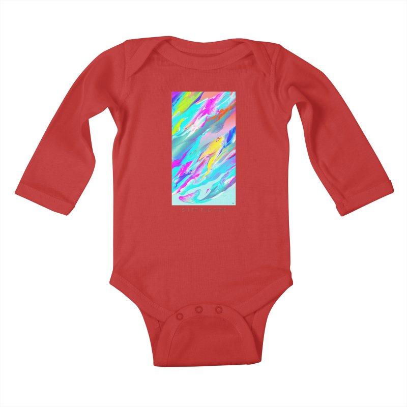 SHIFT THE TIDE Kids Baby Longsleeve Bodysuit by mu's Artist Shop