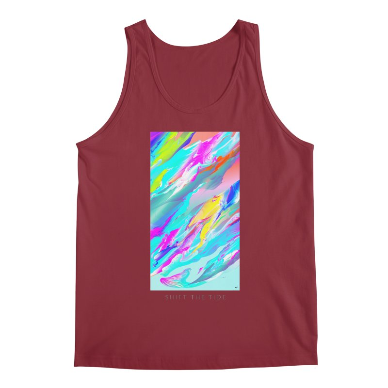 SHIFT THE TIDE Men's Regular Tank by mu's Artist Shop