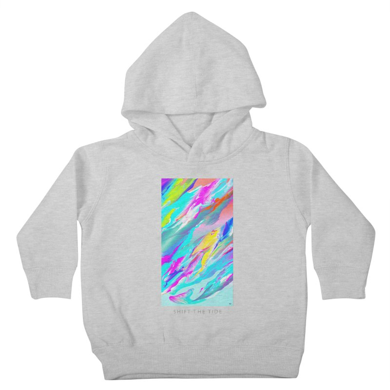 SHIFT THE TIDE Kids Toddler Pullover Hoody by mu's Artist Shop