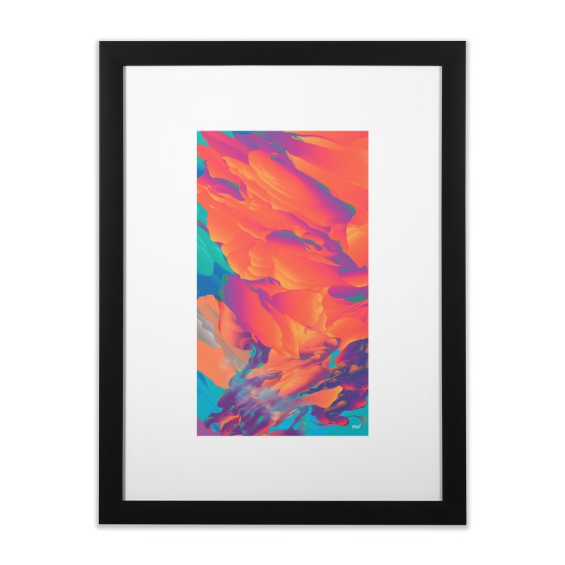 SUNSET WARS in Framed Fine Art Print Black by mu's Artist Shop