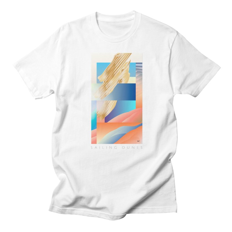 Sailing Dunes Men's T-Shirt by mu's Artist Shop