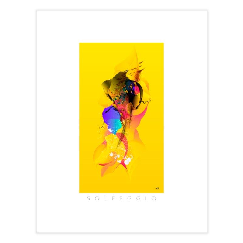 Solfeggio Home Fine Art Print by mu's Artist Shop