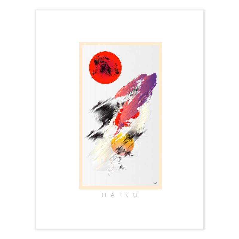 HAIKU Home Fine Art Print by mu's Artist Shop