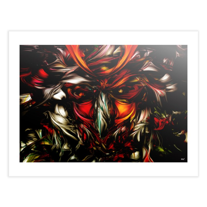 Kobuto Lion Home Fine Art Print by mu's Artist Shop