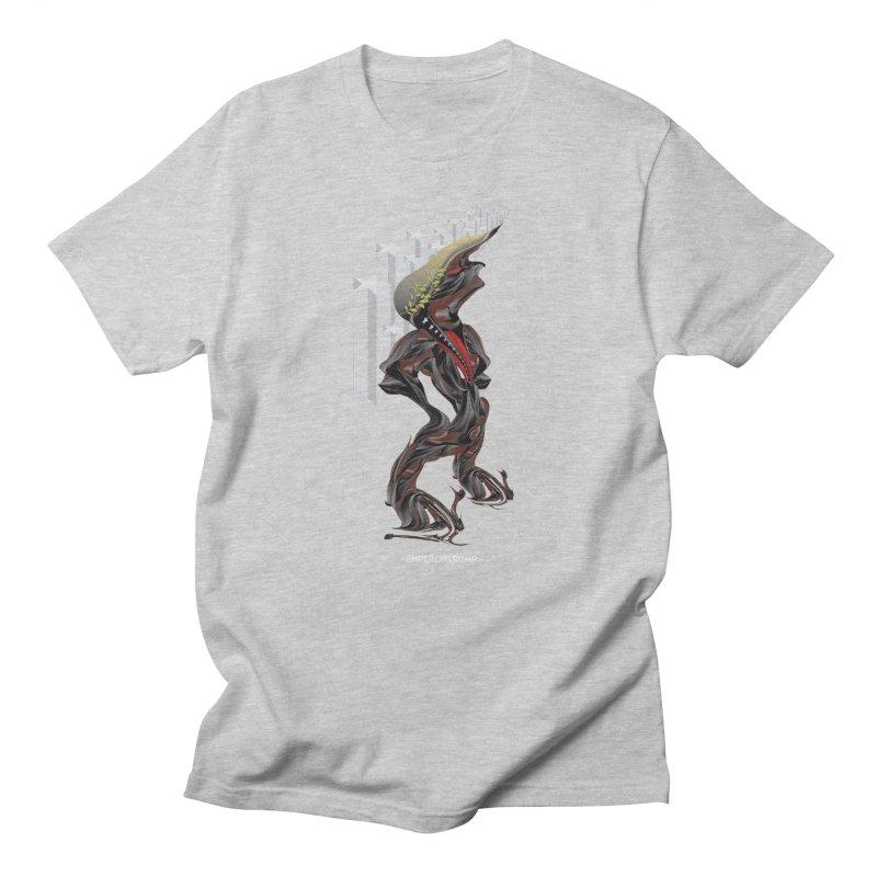 EMPEROR TRUMP Men's T-Shirt by mu's Artist Shop