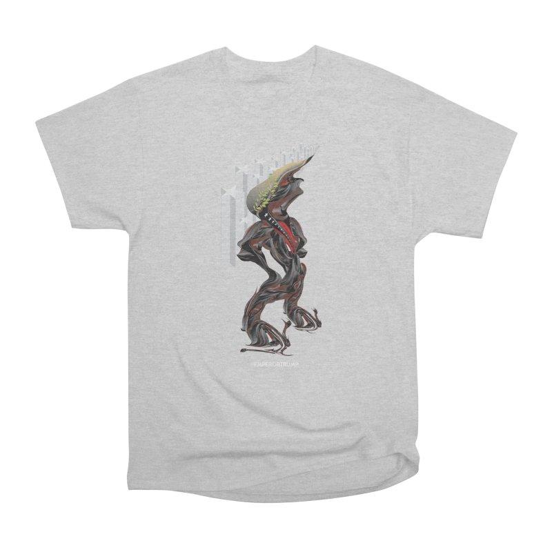 EMPEROR TRUMP Men's Heavyweight T-Shirt by mu's Artist Shop