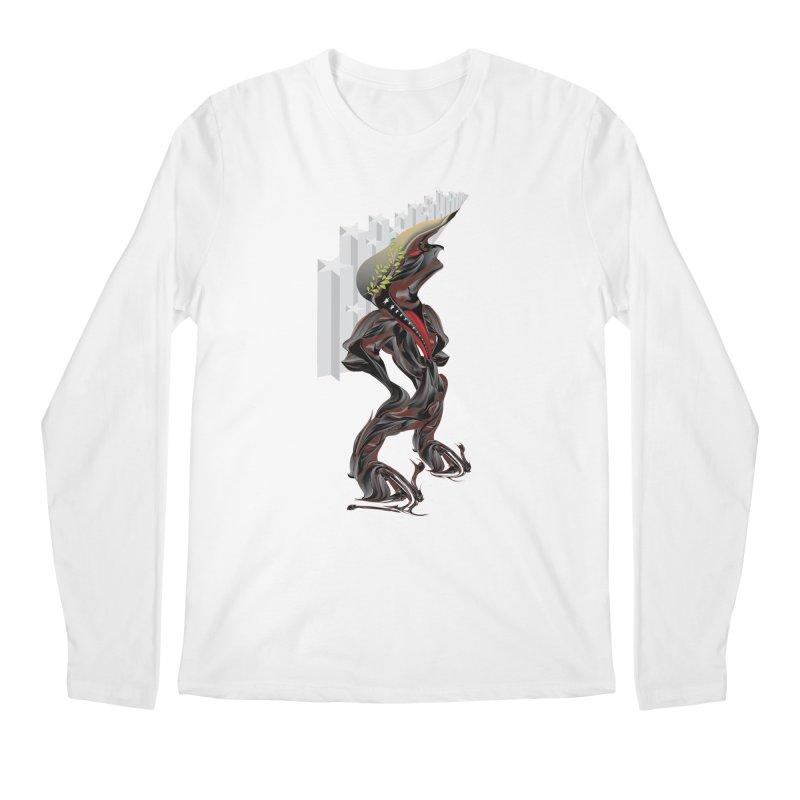 EMPEROR TRUMP Men's Regular Longsleeve T-Shirt by mu's Artist Shop