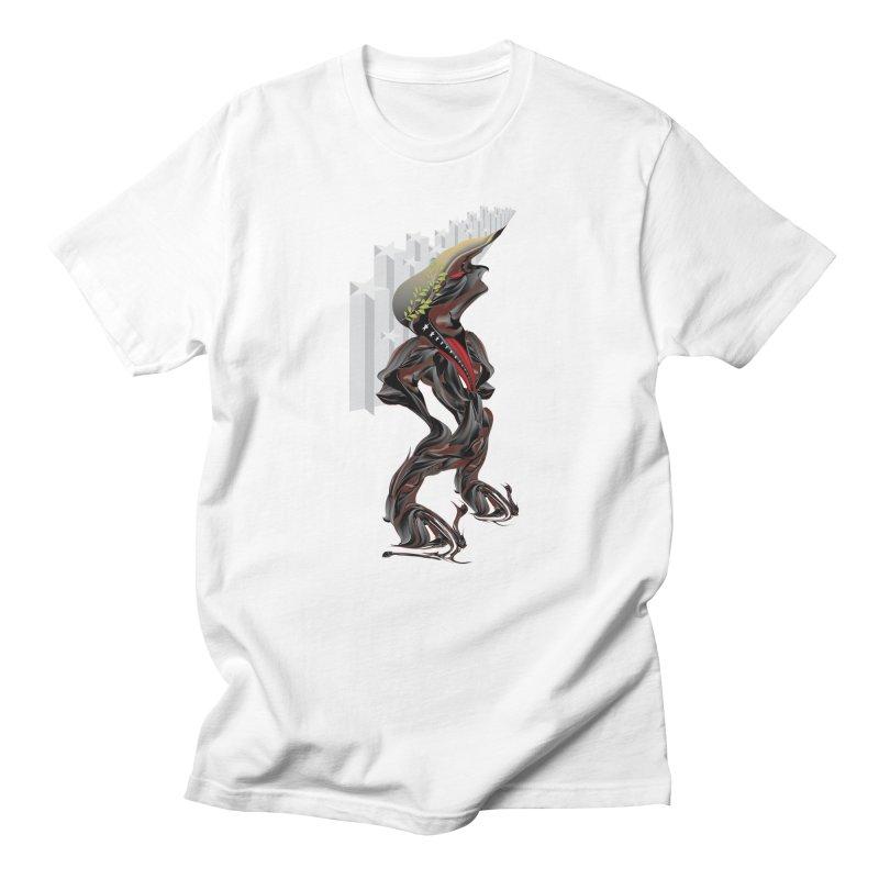EMPEROR TRUMP Men's Regular T-Shirt by mu's Artist Shop