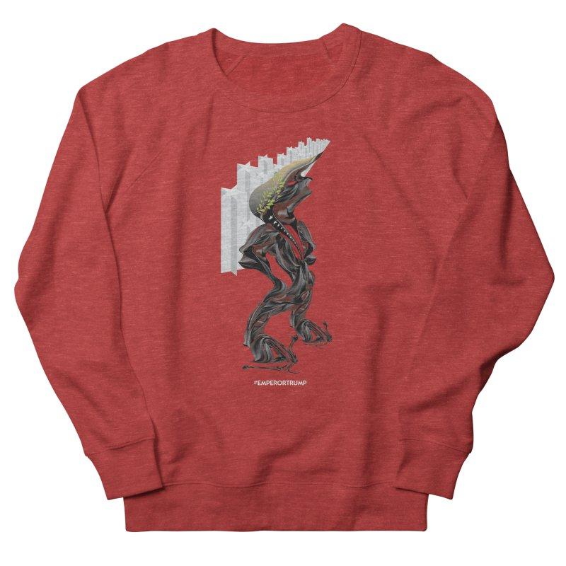 EMPEROR TRUMP Men's French Terry Sweatshirt by mu's Artist Shop
