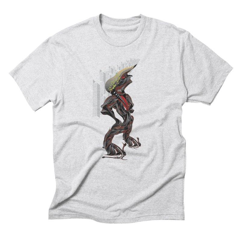EMPEROR TRUMP Men's Triblend T-Shirt by mu's Artist Shop