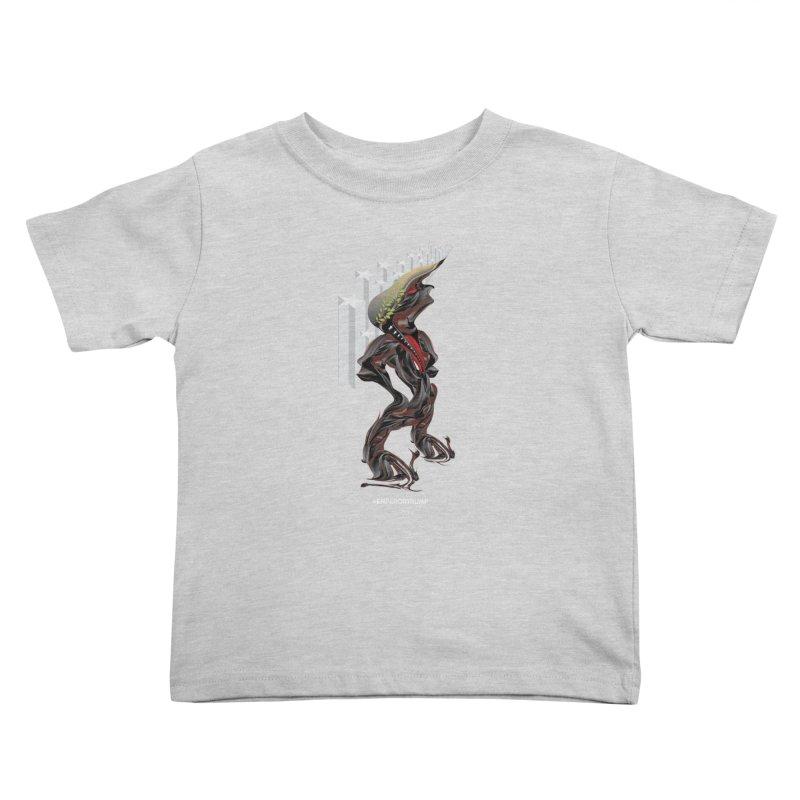 EMPEROR TRUMP Kids Toddler T-Shirt by mu's Artist Shop