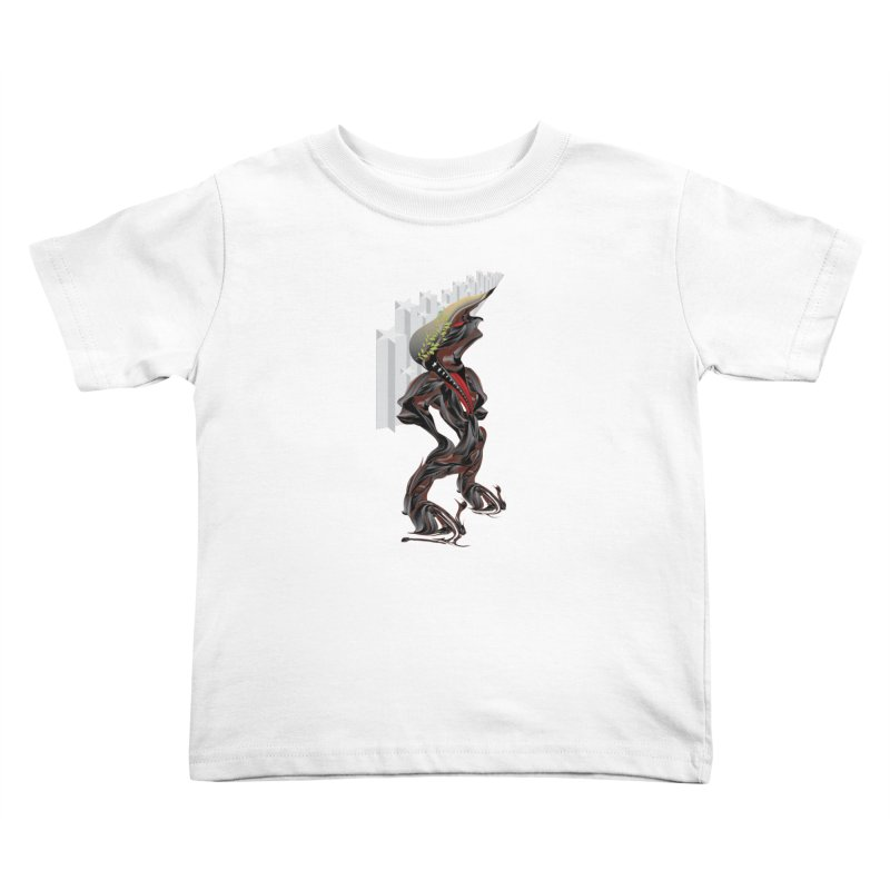 EMPEROR TRUMP Kids Toddler T-Shirt by mu's Artist Shop