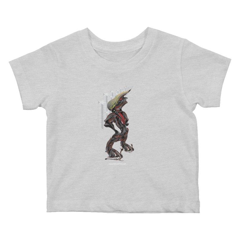 EMPEROR TRUMP Kids Baby T-Shirt by mu's Artist Shop