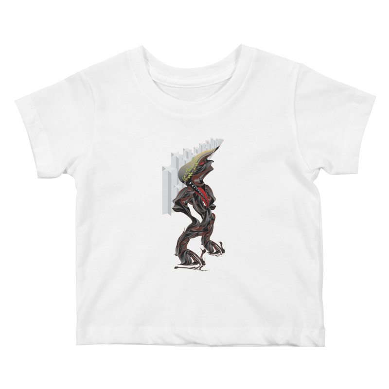EMPEROR TRUMP Kids Baby T-Shirt by mu's Artist Shop