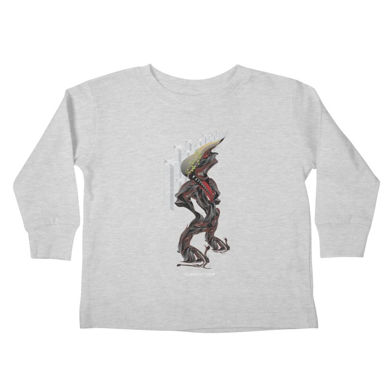 EMPEROR TRUMP Kids Toddler Longsleeve T-Shirt by mu's Artist Shop