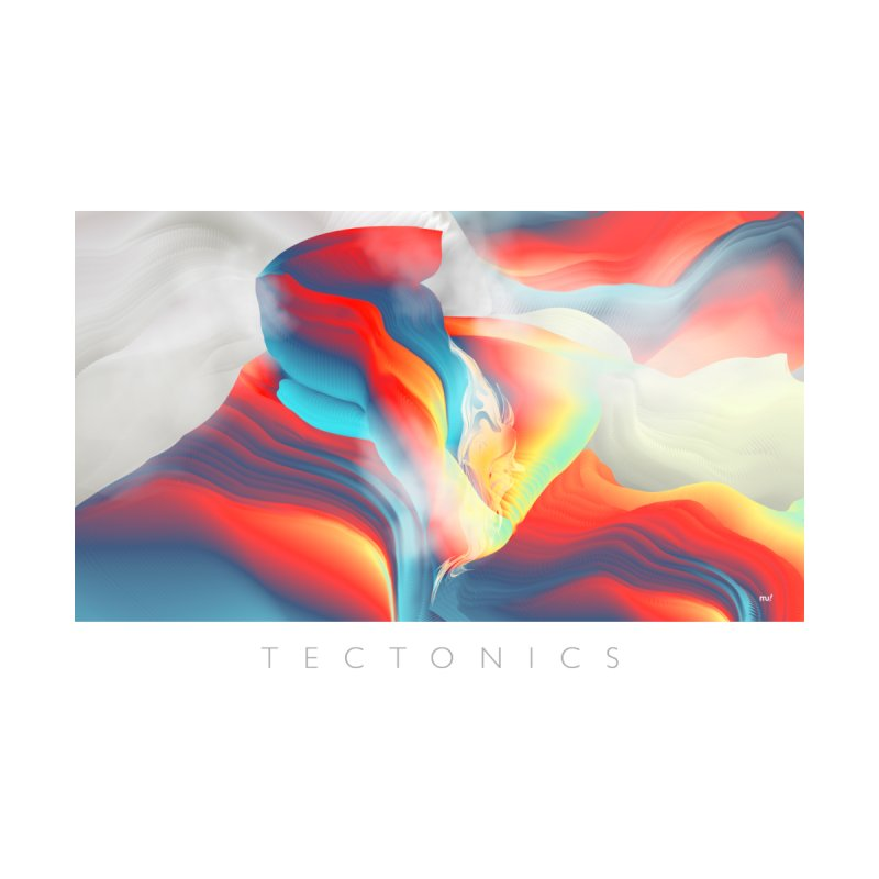Tectonics Home Stretched Canvas by mu's Artist Shop