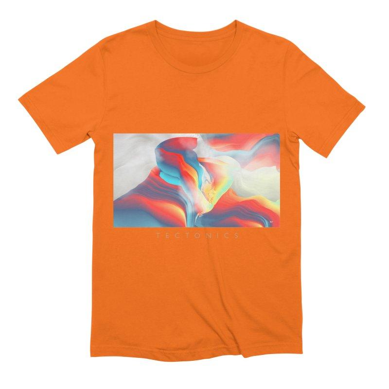Tectonics Men's Extra Soft T-Shirt by mu's Artist Shop