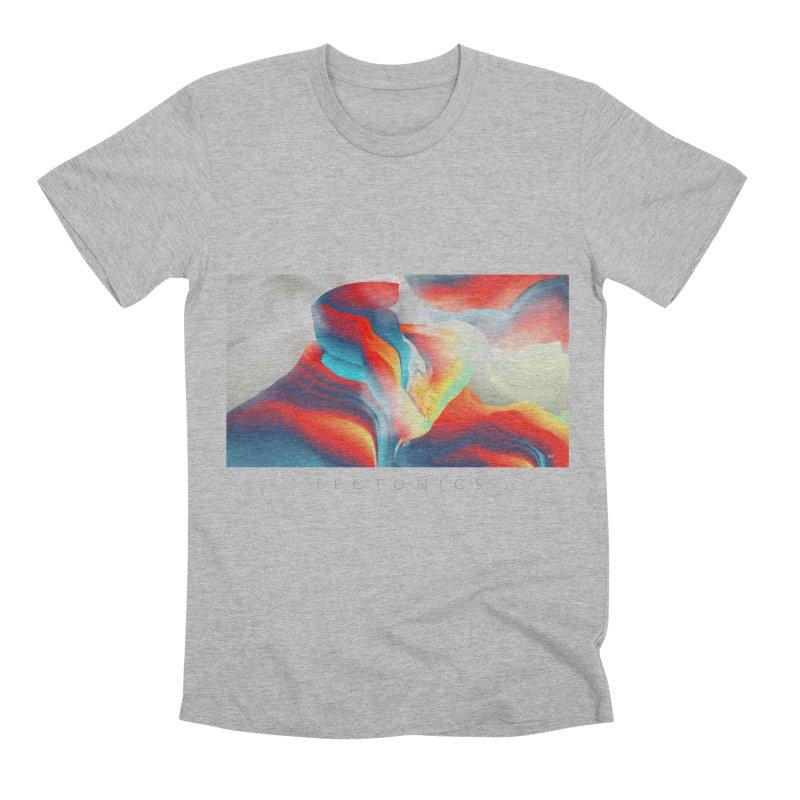 Tectonics Men's Premium T-Shirt by mu's Artist Shop