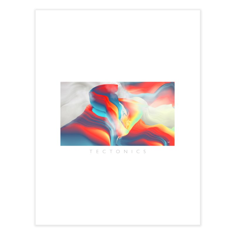 Tectonics Home Fine Art Print by mu's Artist Shop