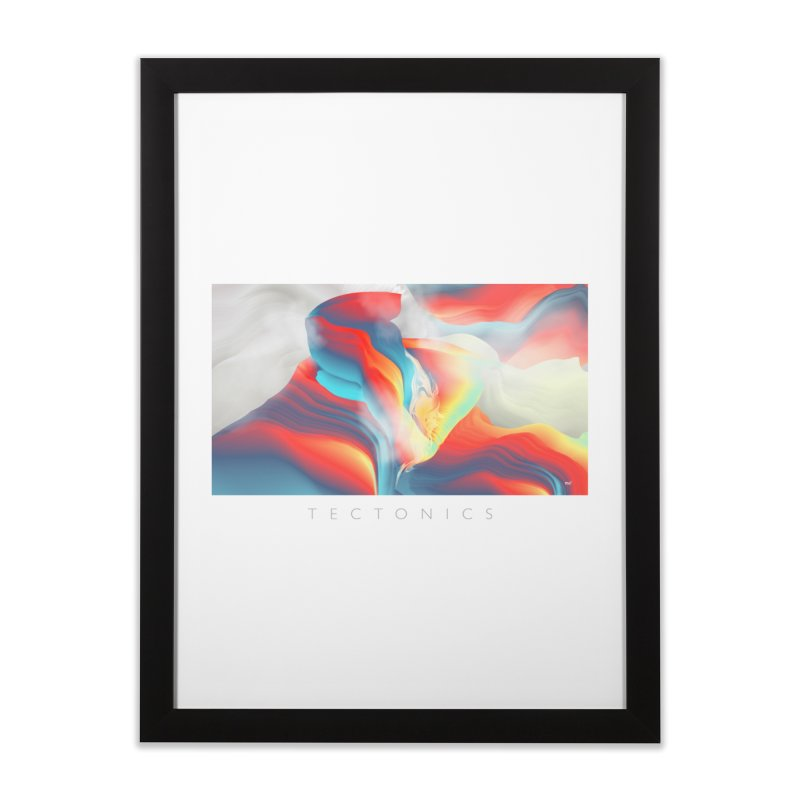 Tectonics Home Framed Fine Art Print by mu's Artist Shop