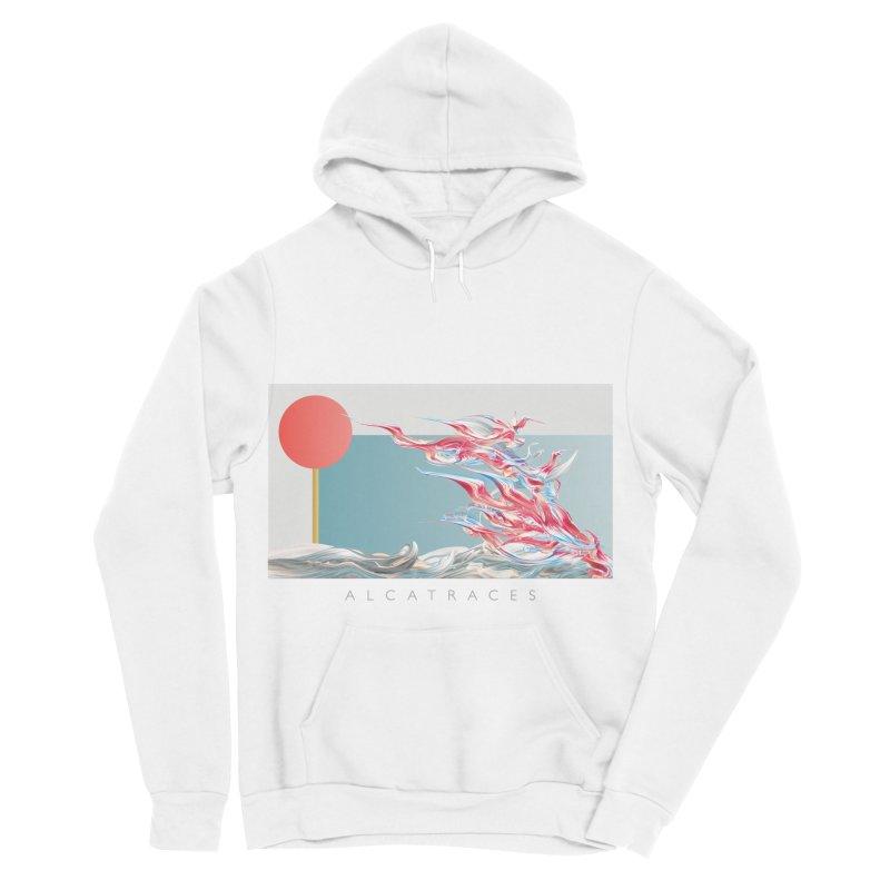 Alcatraces - Gannets Women's Sponge Fleece Pullover Hoody by mu's Artist Shop