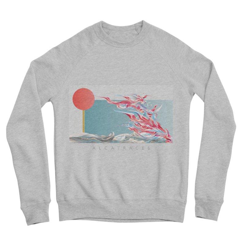 Alcatraces - Gannets Women's Sponge Fleece Sweatshirt by mu's Artist Shop