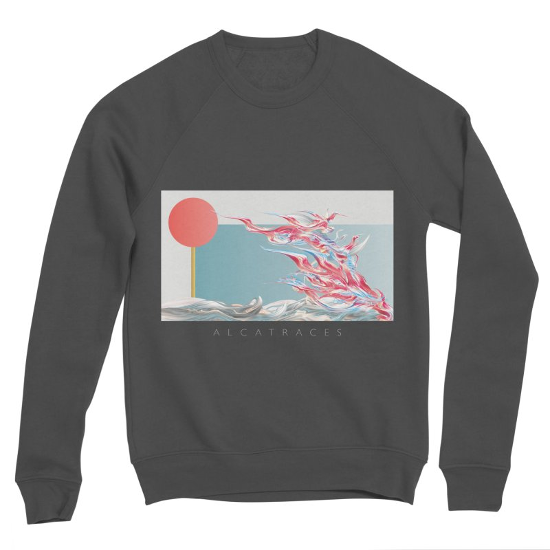 Alcatraces - Gannets Women's Sponge Fleece Sweatshirt by mu's Artist Shop