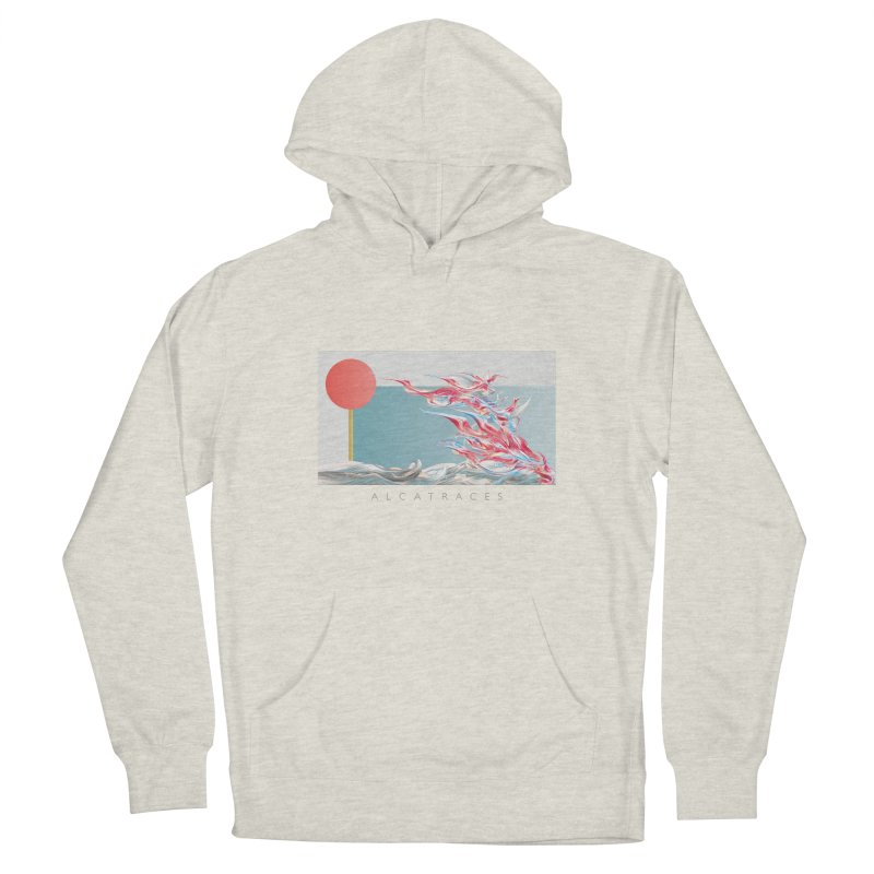 Alcatraces - Gannets Men's French Terry Pullover Hoody by mu's Artist Shop