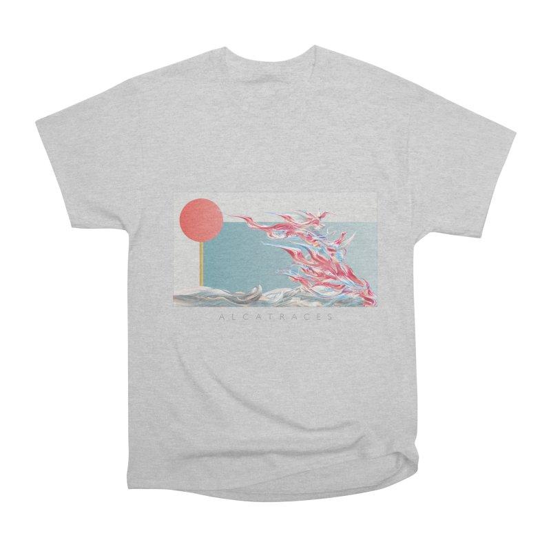 Alcatraces - Gannets Women's Heavyweight Unisex T-Shirt by mu's Artist Shop