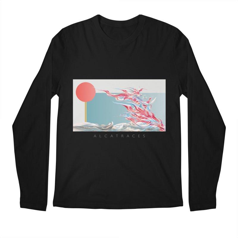 Alcatraces - Gannets Men's Longsleeve T-Shirt by mu's Artist Shop