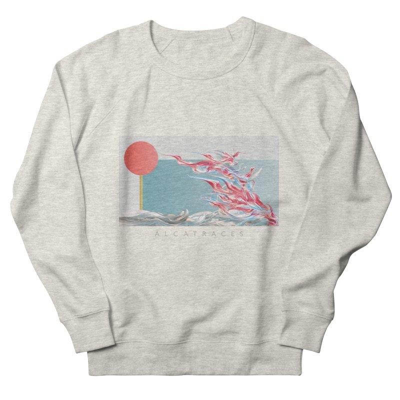 Alcatraces - Gannets Women's French Terry Sweatshirt by mu's Artist Shop