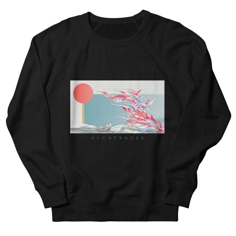 Alcatraces - Gannets Men's French Terry Sweatshirt by mu's Artist Shop