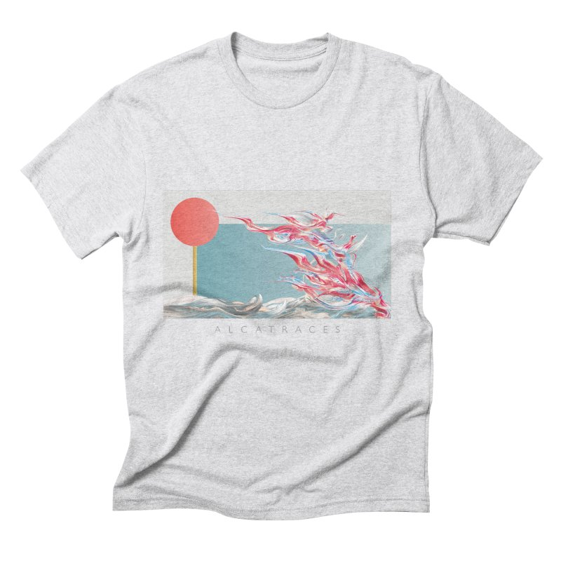Alcatraces - Gannets Men's T-Shirt by mu's Artist Shop