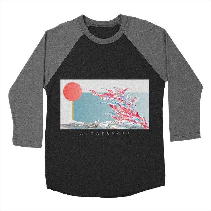 Alcatraces - Gannets Men's Baseball Triblend Longsleeve T-Shirt by mu's Artist Shop
