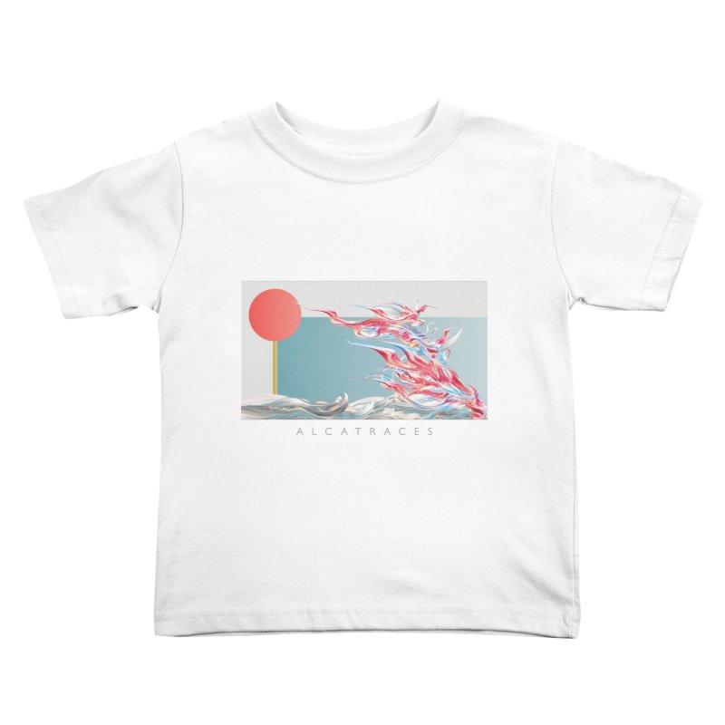 Alcatraces - Gannets Kids Toddler T-Shirt by mu's Artist Shop
