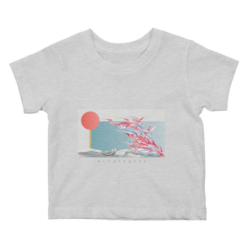 Alcatraces - Gannets Kids Baby T-Shirt by mu's Artist Shop